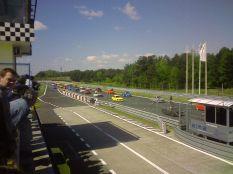 A Tor-Poznan versenypályán