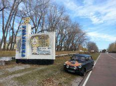 Az első Trabant Csernobilban !