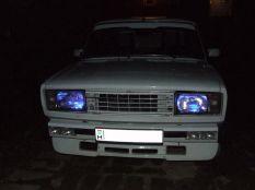 Kék LED helyzetjelzők