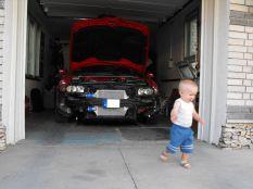 Marci és az autó