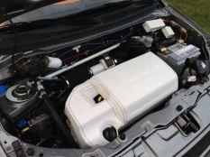 White leather engine
