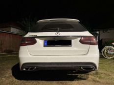 C43 vs AMG line exhaust pipes